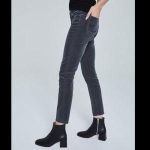 Adrianna Goldstein AG slim straight leg cords 26